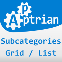 Subcategories Grid/List for Magento